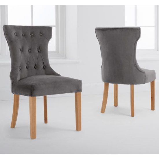 Court Grey Velvet Dining Chairs In A Pair_1