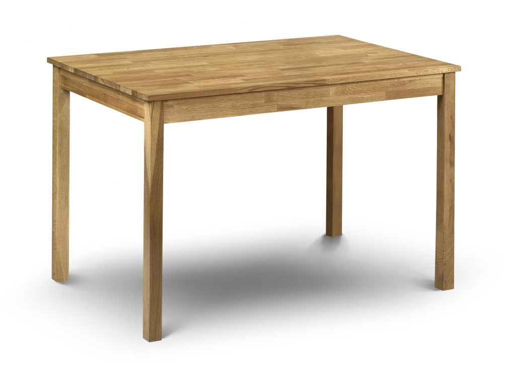 Coxmoor Rectangle Wooden Dining Table In Oiled Oak Finish