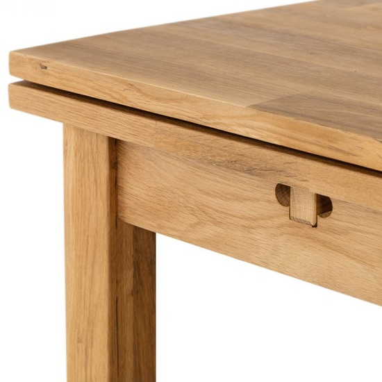 Coxmoor Wooden Extending Dining Table In Oiled Oak Finish_5