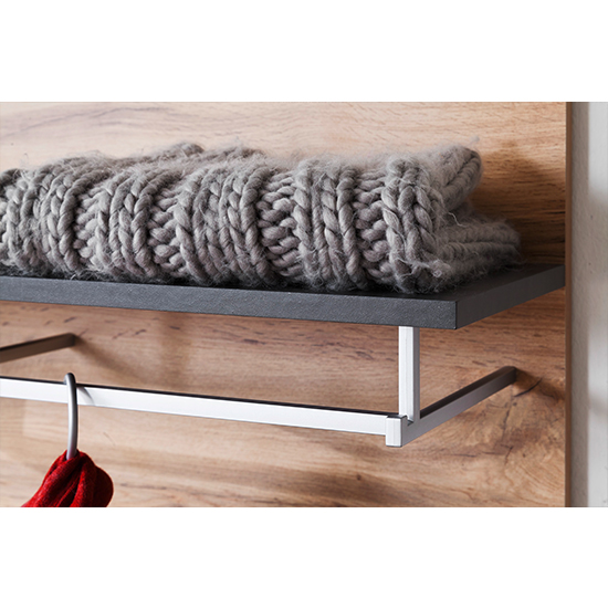 Coyco Wooden Tall Coat Rack In Wotan Oak And Grey_4