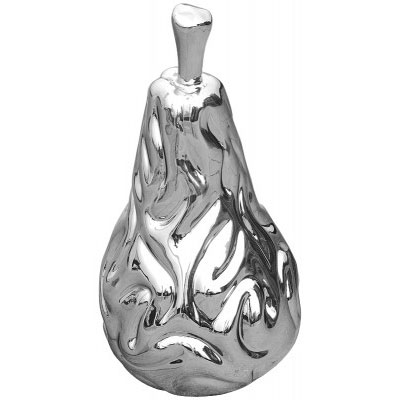 Platinum Pear Sculpture