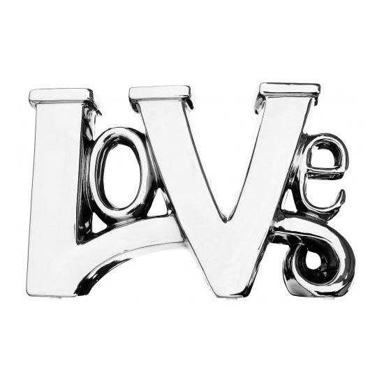 Platinum Love Sculpture