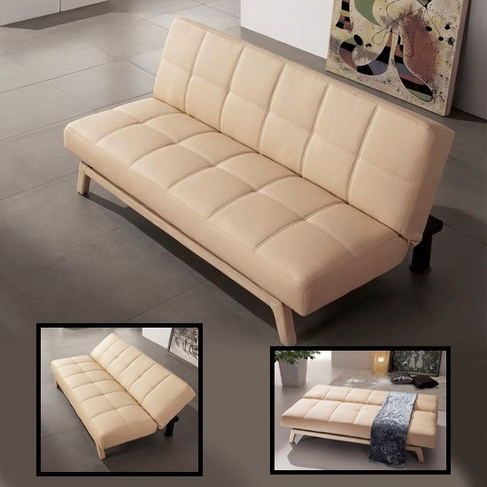 cream sofabed paris sofabedcrm - Sofas For Apartments Are Specially Designed For Smaller Spaces