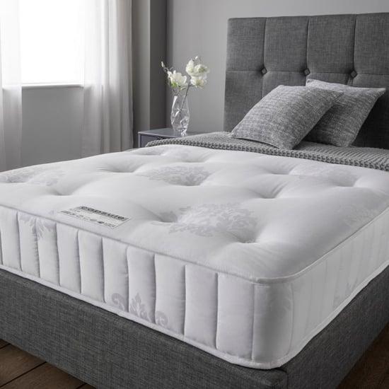 View Crescent elite pocket luxury damask fabric super king size mattress