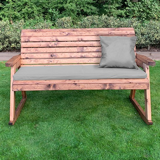 Crimi 3 Seater Rocking Bench With Grey Cushion_2