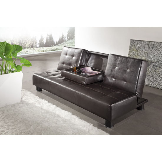 cup holder sofabed brown detroitBrn - Leather Furniture, Care and Upkeep
