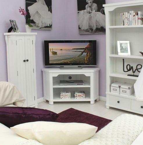 Hampton Corner Television Cabinet - CWR09C