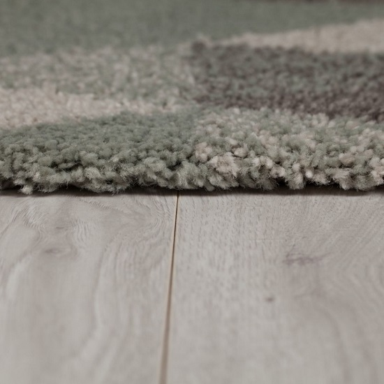 Dakari Nuru Mint And Cream And Grey Finish Rug_4