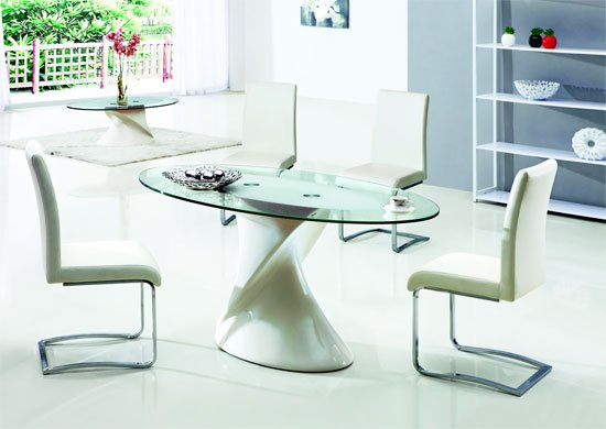 dakota oval dining table 4x - Beautiful Dining Table and Chairs for Your Dining Room