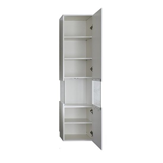 cabinets dale wall mount right bathroom cabinet white high gloss and