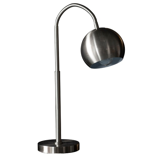 Dallas Table Lamp In Brushed Nickel Finish