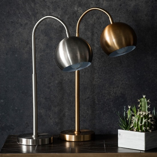 Dallas Table Lamp In Brushed Nickel Finish_2