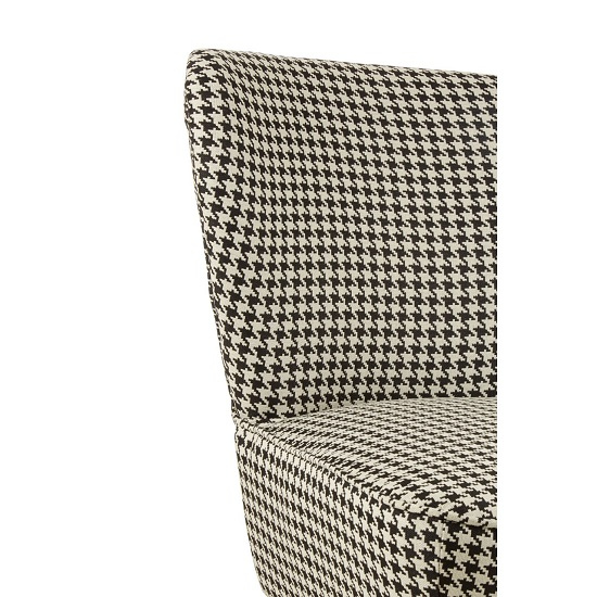 Damiano Wingback Fabric Bedroom Chair With Black Legs_5