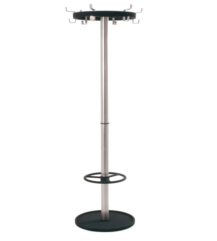 Davos Hat And Coat Stand In Chrome
