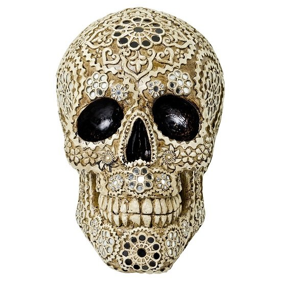 View Tesk decorative model skull sculpture