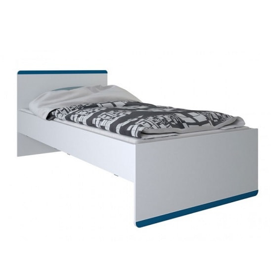 Delphi Wooden Children Bed In Pearl White_2