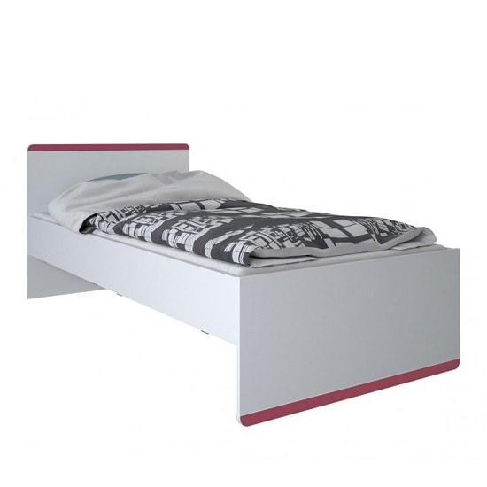 Delphi Wooden Children Bed In Pearl White_3