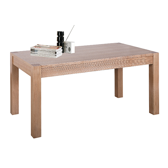 Delphini Wooden Coffee Table In Natural Ash
