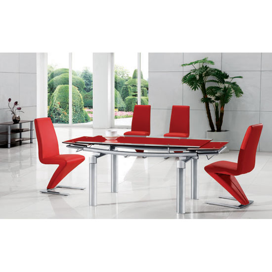delta rd dining set - Classy, Modern and Elegant Glass Top Dining Table