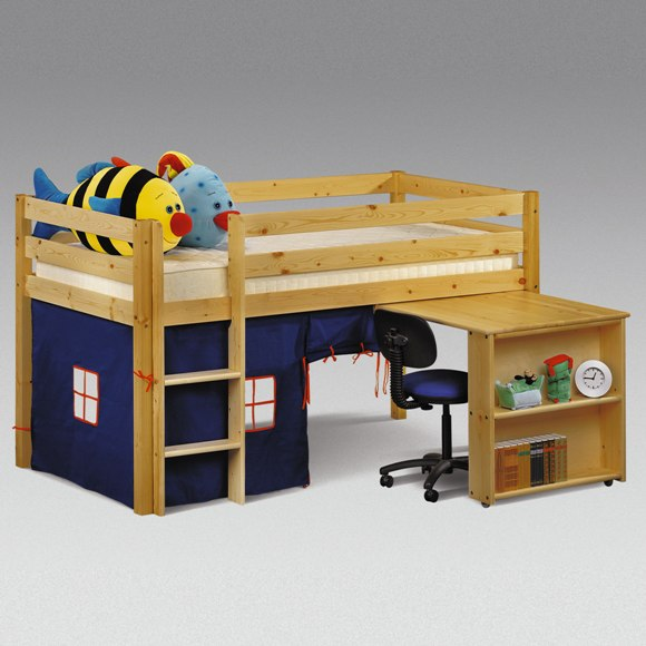 desk bed hideaway sleeper - Childrens Bedroom Furniture For Small Spaces