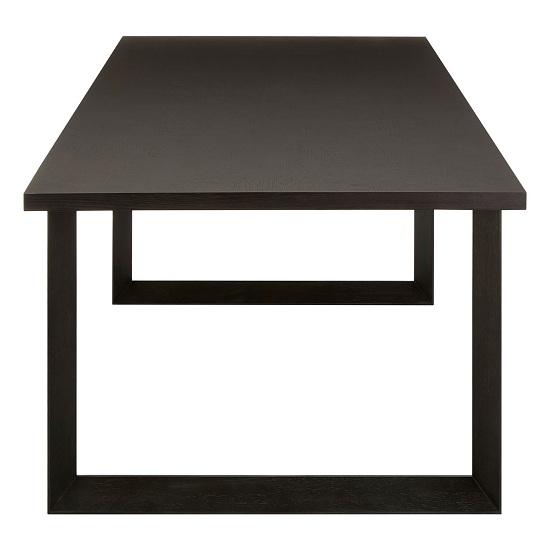 Chalawan Rubberwood Dining Table In Black      _3