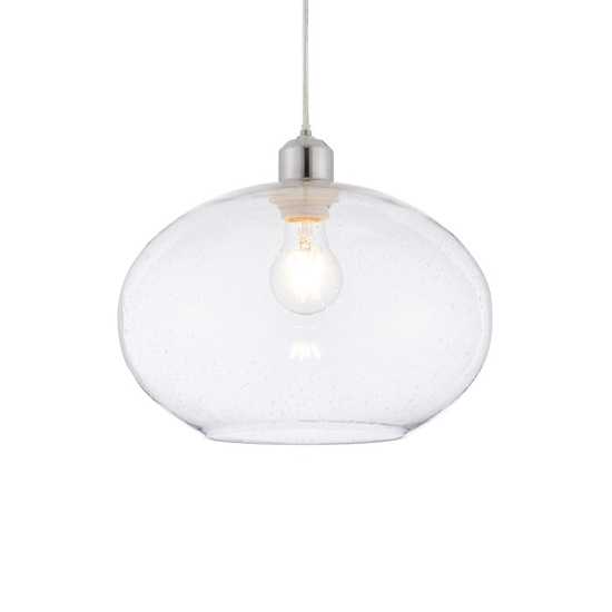 Dimitri Wall Hung Clear Glass Pendant Light