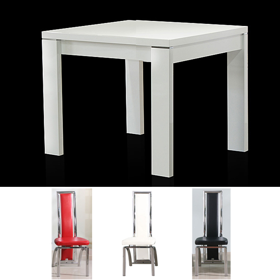 Magnificent White Modern Square Dining Table 550 x 550 · 72 kB · jpeg