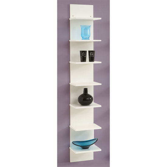 Vertical White Wall Shelving Flip Buy Modern Home