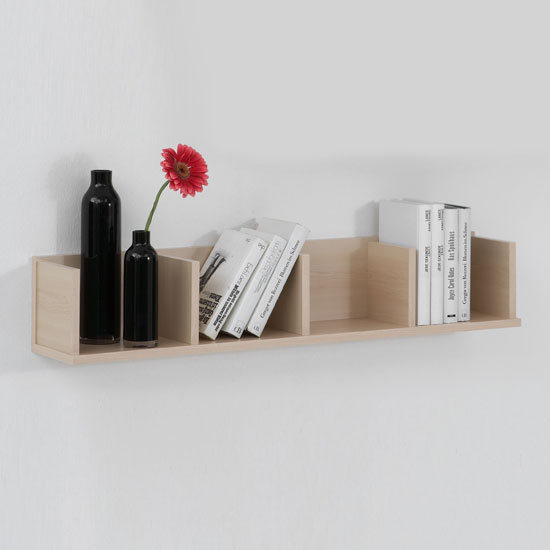 maple wall mounted display shelves point4 ebay. Black Bedroom Furniture Sets. Home Design Ideas