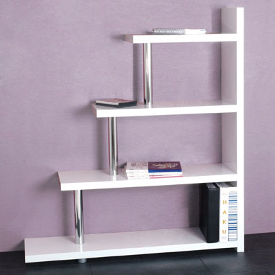 brown wood modern bookcase tall living room furniture rt157d occ h