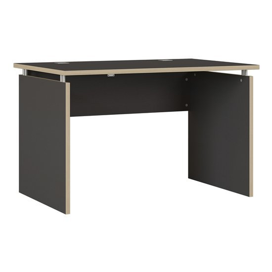 Duo Schreibtisch Wooden Laptop Desk In Anthracite