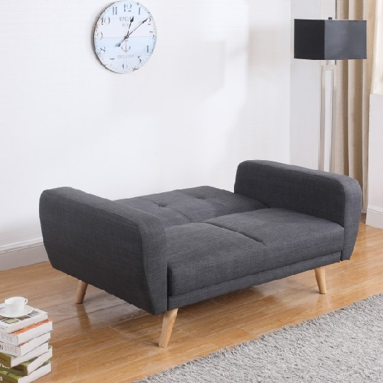 Durdham fabric chaise longue sofa bed for Argos chaise longue sofa bed