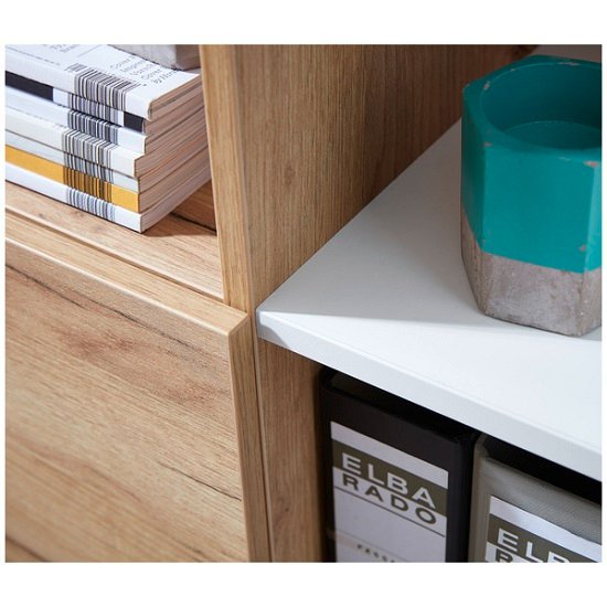 Effie Small Filing Storage Cabinet In White And Navarra Oak_5