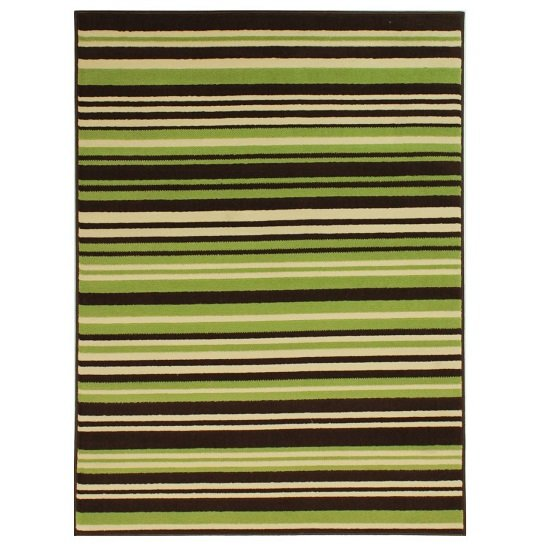 Element Prime Canterbury Green And Brown Rug_1