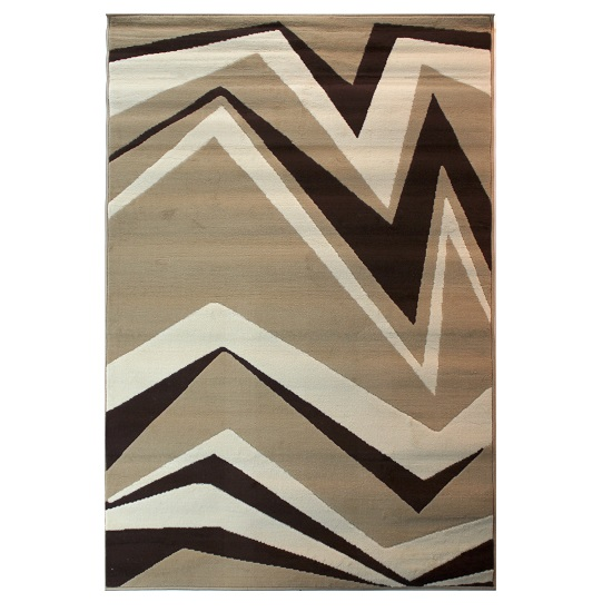 Element Shard Beige And Brown Rug