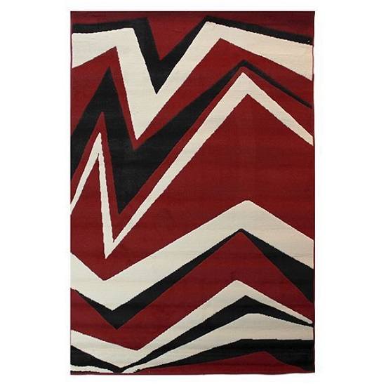 Element Shard Red Rug
