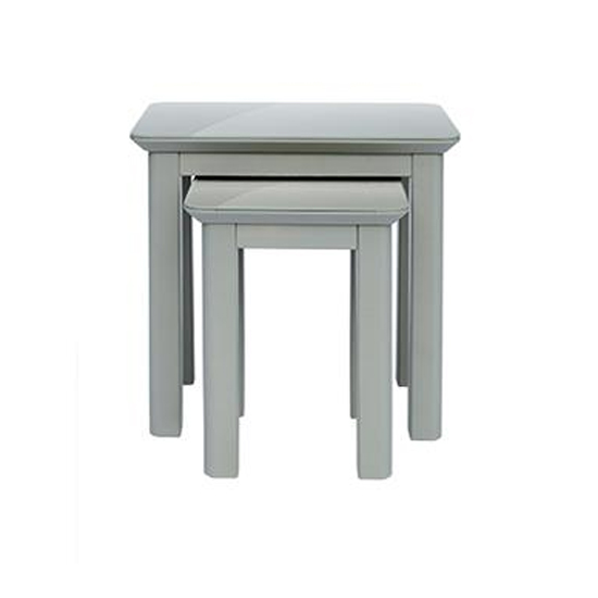 Elgin Set Of 2 Nesting Tables In Grey