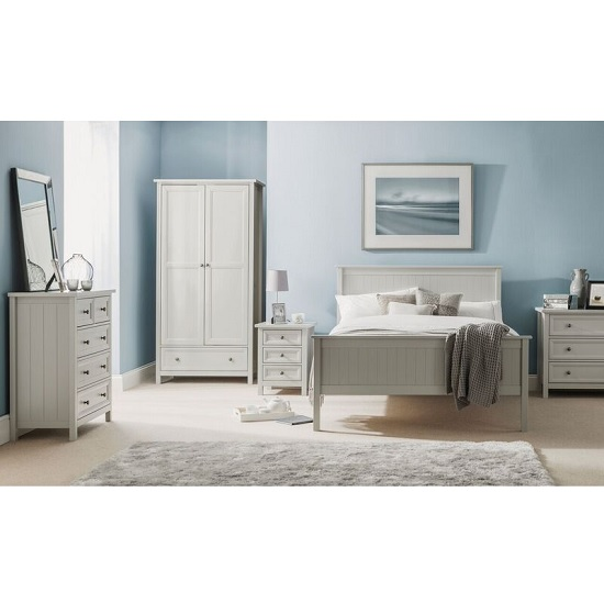 Ellie Wooden Chest Of Drawers In Dove Grey Lacquered_2