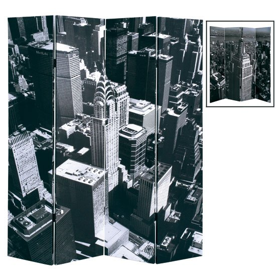 New York Skyline Room Divider 7160 Furniture in Fashion