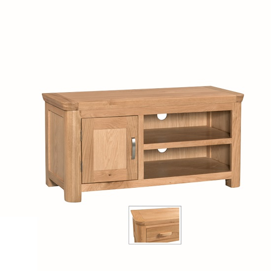 Empire Wooden TV Stand With 1 Door With Shelf