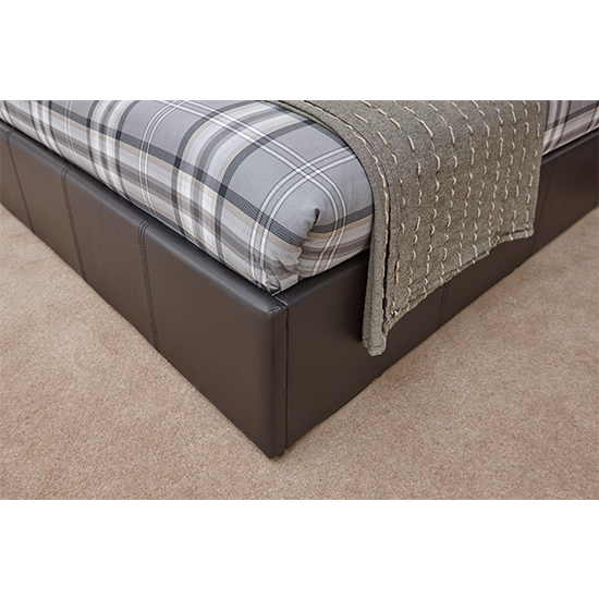 End Lift Ottoman Double Bed In Brown_3