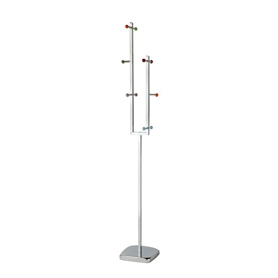 Enor Metal Coat Stand In Multi-Colour With 10 Hooks