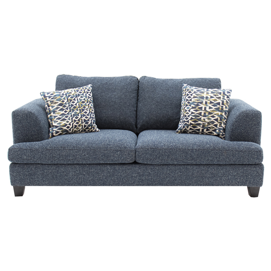Etta Fabric Upholstered 2 Seater Sofa In Blue_1