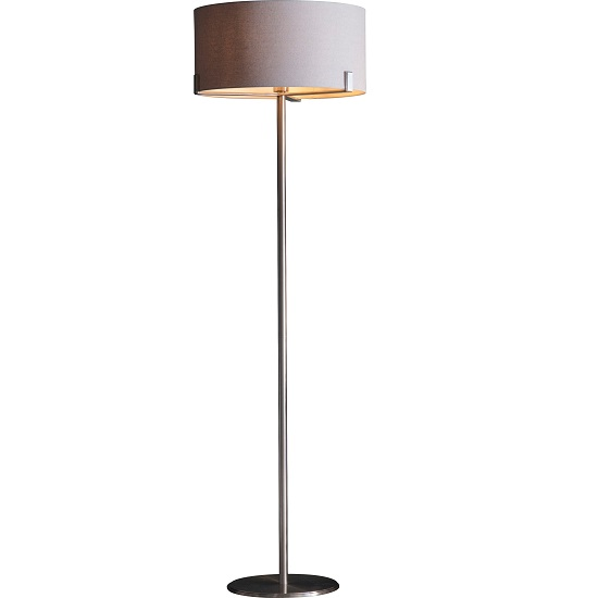 Evelyn Floor Lamp In Dusky Pink Finish