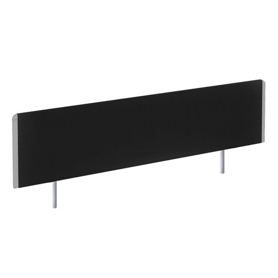Evolve Large Bench Screen In Black With Silver Frame