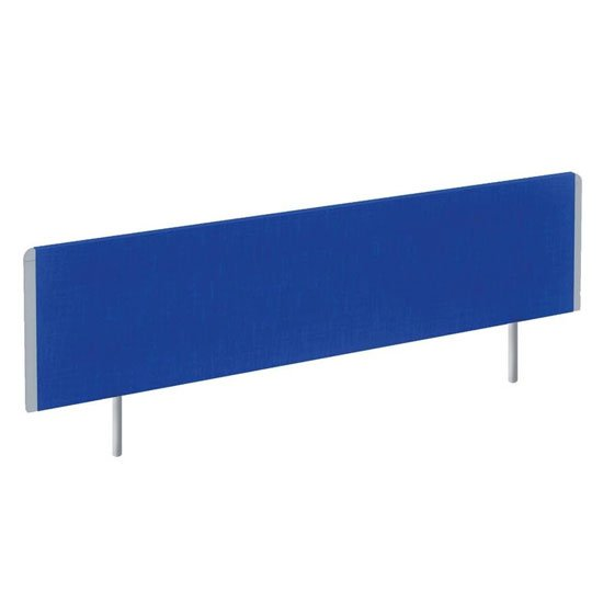 Evolve Large Bench Screen In Blue With Silver Frame