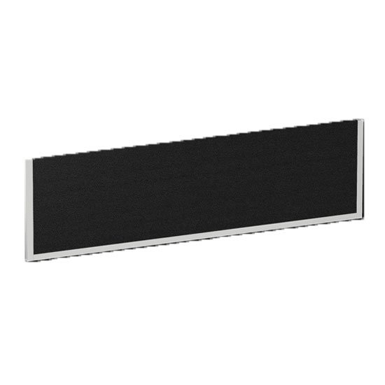 Evolve Medium Bench Screen In Black With White Frame