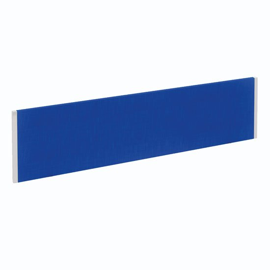 Evolve Medium Bench Screen In Blue With White Frame