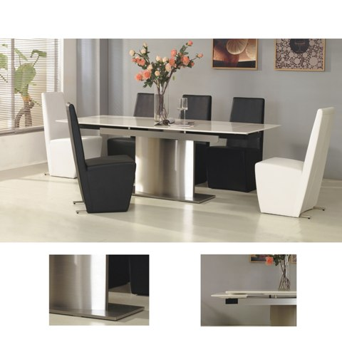 extendable dining table stone glacierDin - Glacier Dining Table, Best Price In The UK