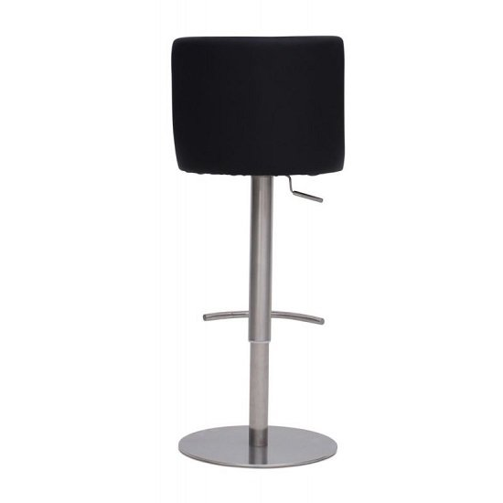Fabio Bar Stools In Black Faux Leather In A Pair_3